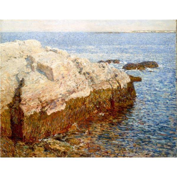 Childe Hassam - Cliff Rock - Appledore