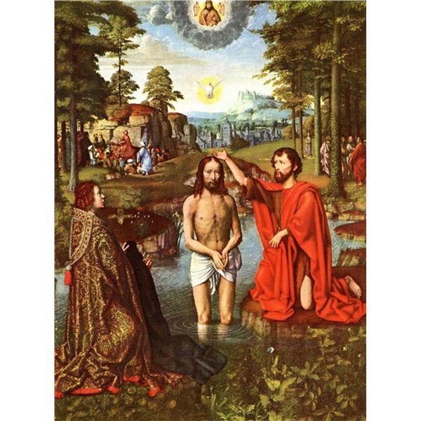 Gerard David -Baptism of Christ