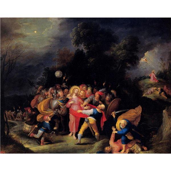 Frans Francken - Capture of Christ