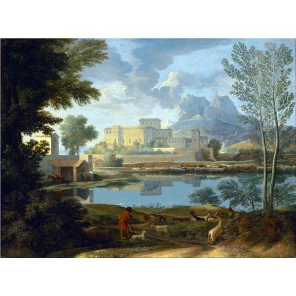 Nicolas Poussin - Landscape with Calm