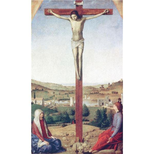 Antonello da Messina - Christ Crucified