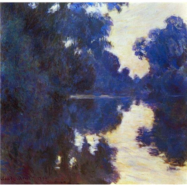 Claude Monet - Seine in Morning #2