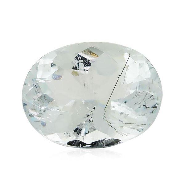 4.42 ct.Natural Oval Cut Aquamarine
