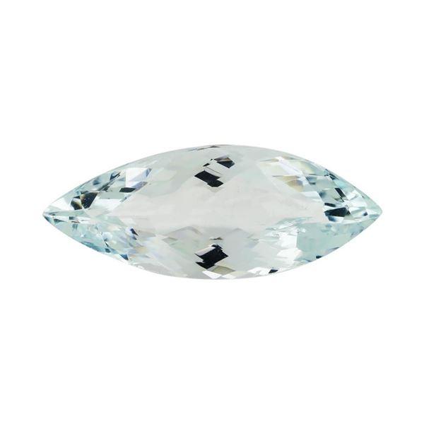 8.28 ct.Natural Marquise Cut Aquamarine