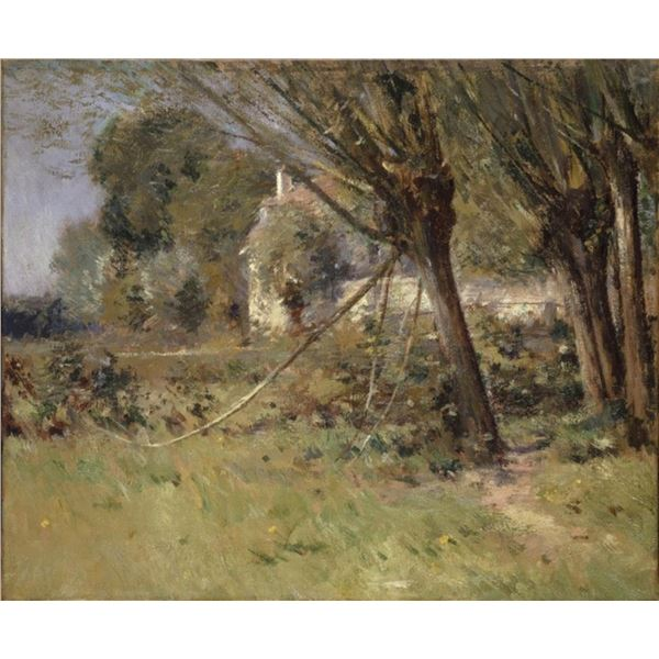 Theodore Robinson - Willows