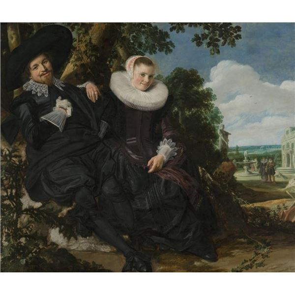 Frans Hals - Wedding Portrait