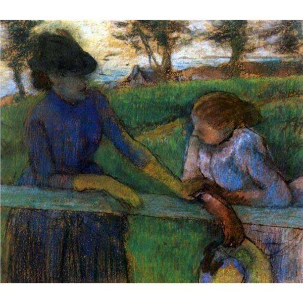 Edgar Degas - Conversation