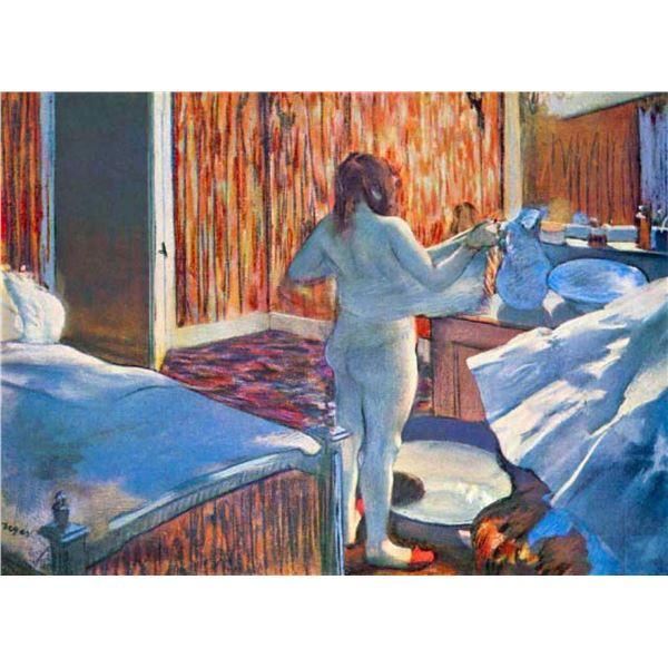 Edgar Degas - Women At The Toilet #3