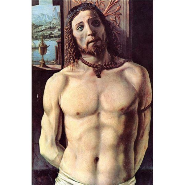 Donato Bramante - Christ Bound to the Column