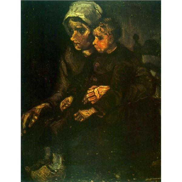 Van Gogh - Child On Lap