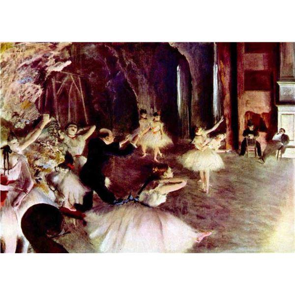 Edgar Degas - Stage Rehearsal