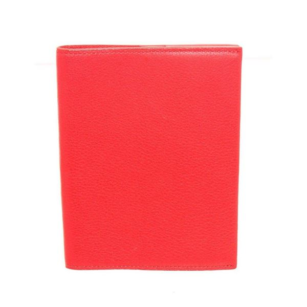 Louis Vuitton Red Taurillon Leather Passport Cover