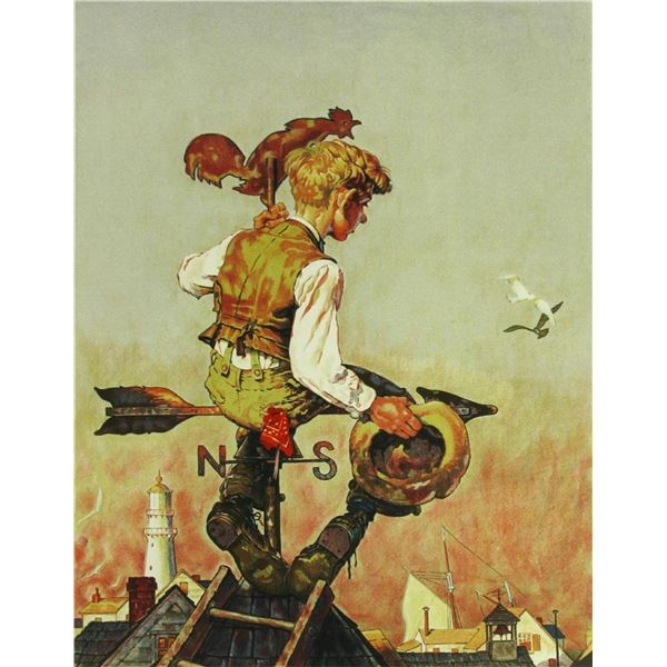 Under Sail by Norman Rockwell 92/200