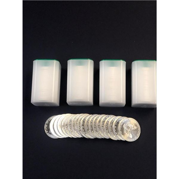(100 COUNT) 2021 American Silver Eagle .999 Fine Silver Dollar Coins