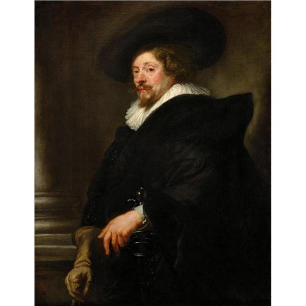 Sir Peter Paul Rubens - Self-Portrait