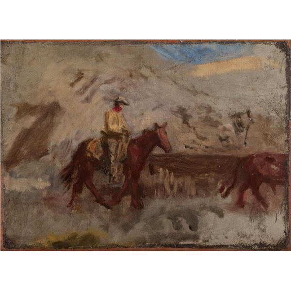 Thomas Eakins - Cowboy at Work
