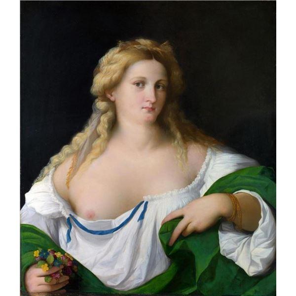 Palma il Vecchio - A Blond Woman