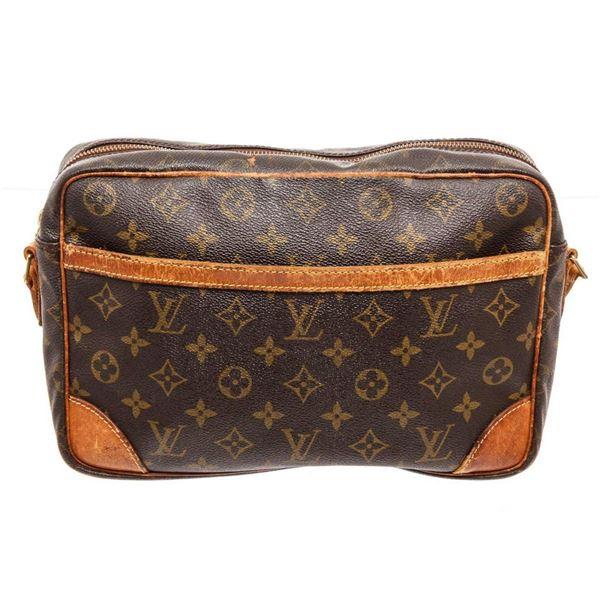 Louis Vuitton Brown Monogram Trocadero 27cm Crossbody Bag