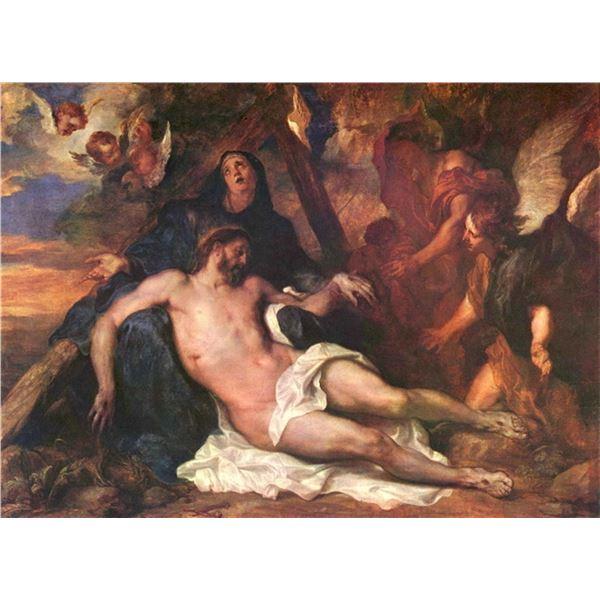 Anthony van Dyck - Weeping Christ