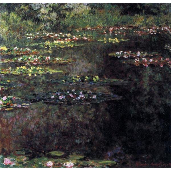 Claude Monet - Water Lilies, Water Landscape #5