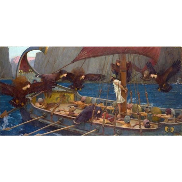 Waterhouse - Ulysses and the Sirens