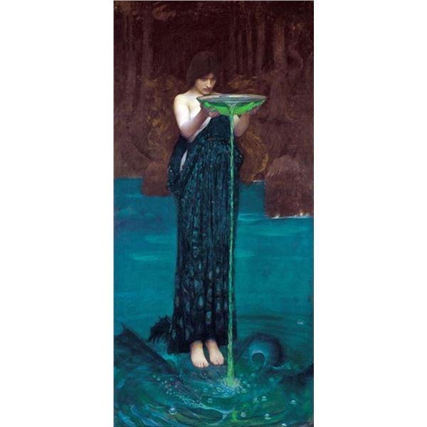 Waterhouse - Circe Invidiosa