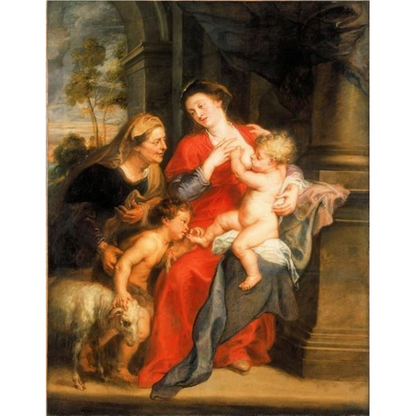 Sir Peter Paul Rubens - The Virgin and Child