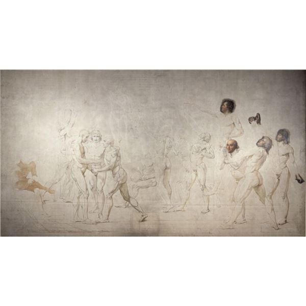 Jacques-Louis David - The Jeu de Paume Oath