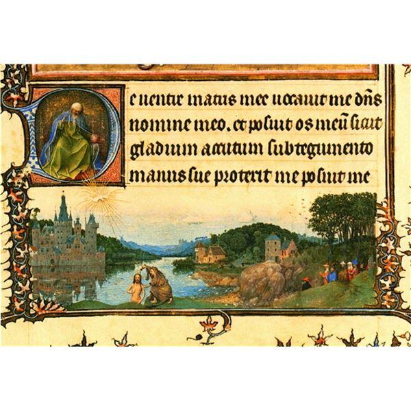 Jan van Eyck - Christs Baptism