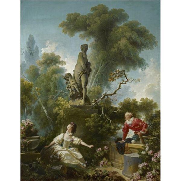 Jean Honore Fragonard - The Progress of Love, The Meeting