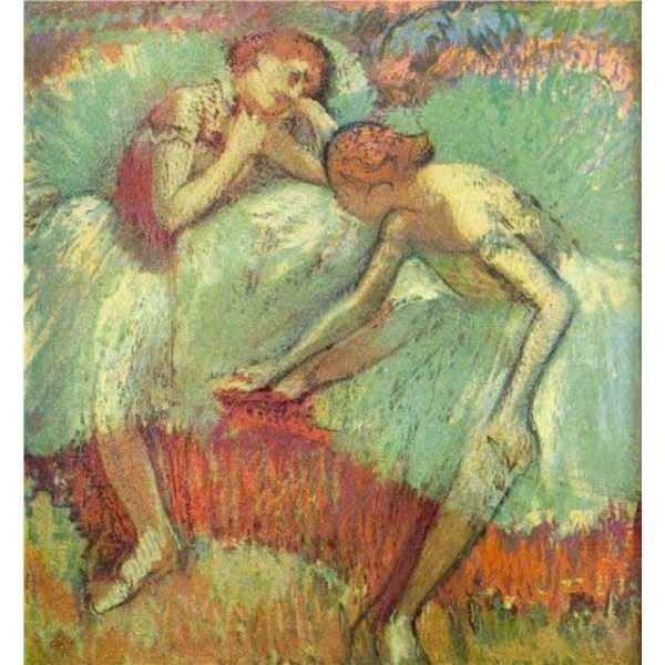 Edgar Degas - Dancers In Green