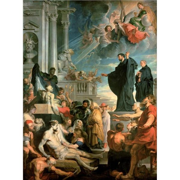 Sir Peter Paul Rubens - The Miracles of St Francis Xavier