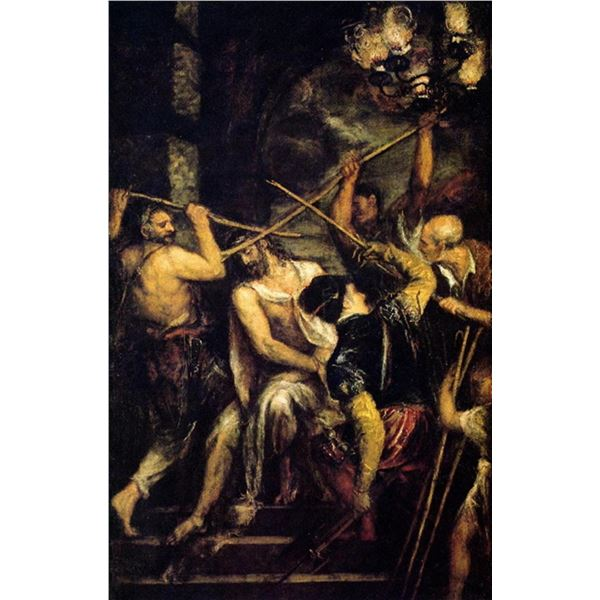 Titian - The Crowning with Thorns