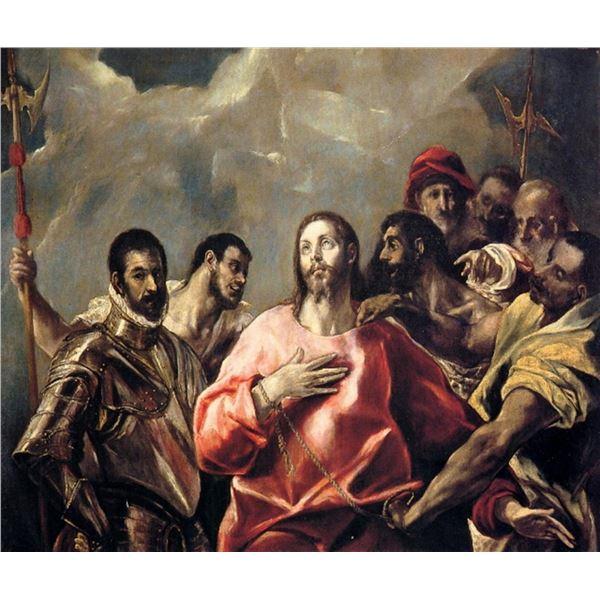 El Greco - Disrobing of Christ(3)