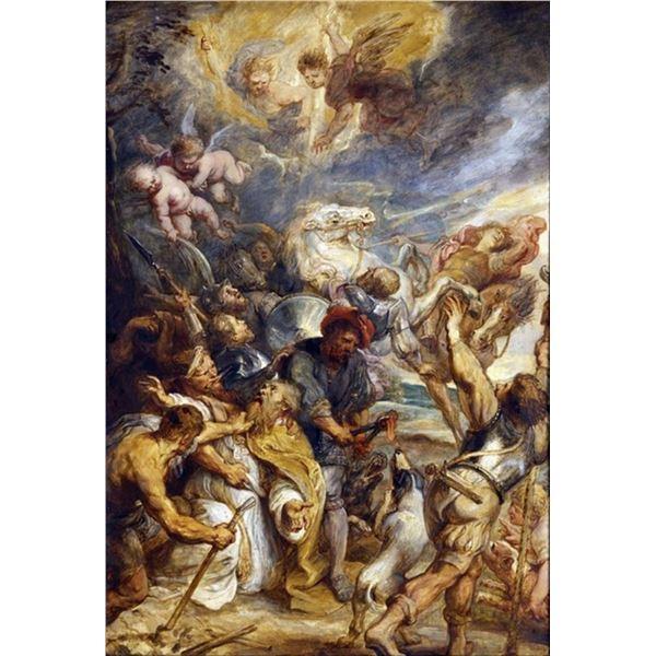 Sir Peter Paul Rubens - The Martyrdom of Saint Livinus