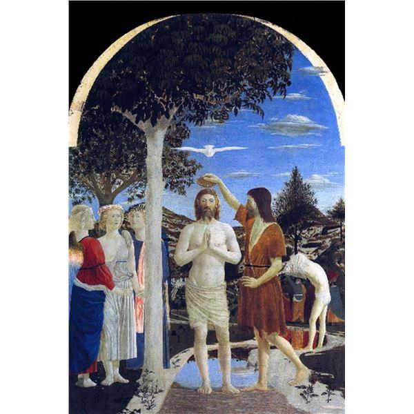 Piero della Francesca - Baptism of Christ