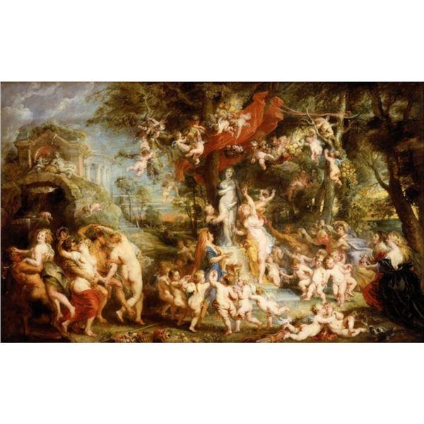 Sir Peter Paul Rubens - The Feast of Venus