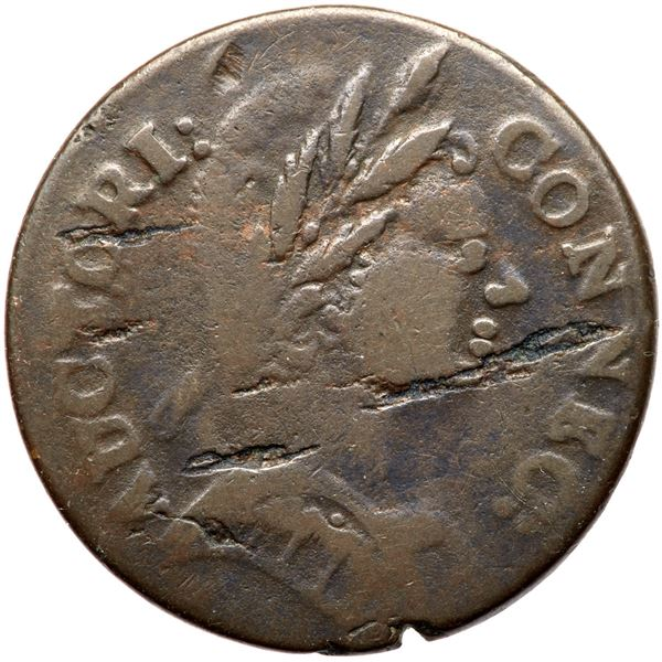 1785 Connecticut Miller 3.1-L R4+ Mailed Bust Right VG10
