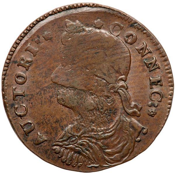 1787 Connecticut Miller 30-hh.1 R2 DBL MS60
