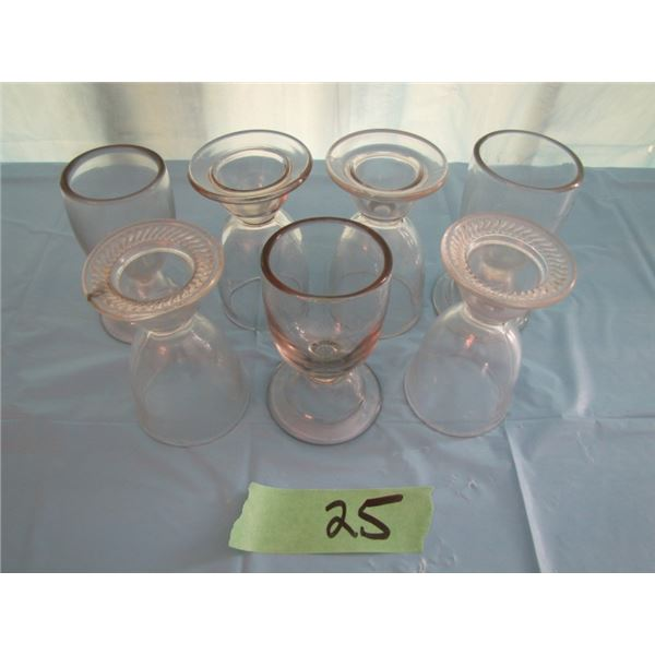 lot of 7 egg cups