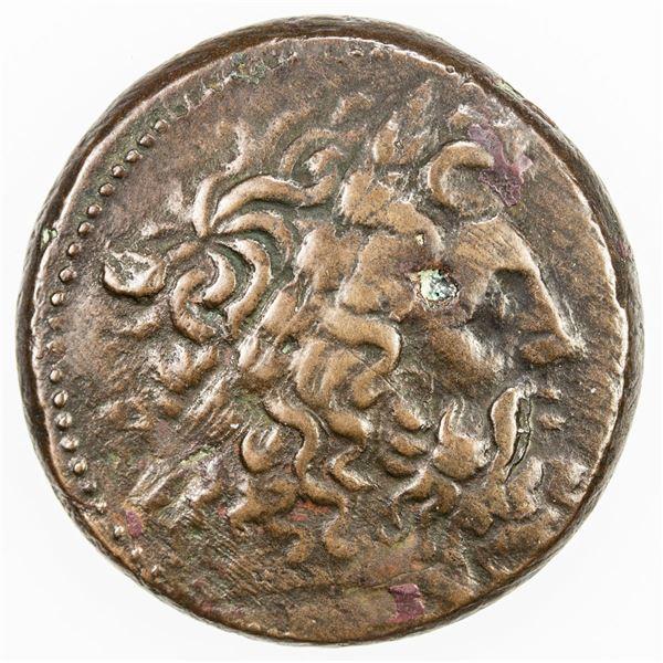 GREEK: EGYPT: PTOLEMAIC: Ptolemy II, 285-246 BC, AE28 diobol (14.85g), Alexandreia. VF