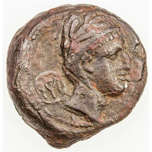 GREEK: SELEUKEIA: Seleukos I Nikator, 305-281 BC, AE unit (7.41g), Uncertain mint 19 (perhaps Bactra
