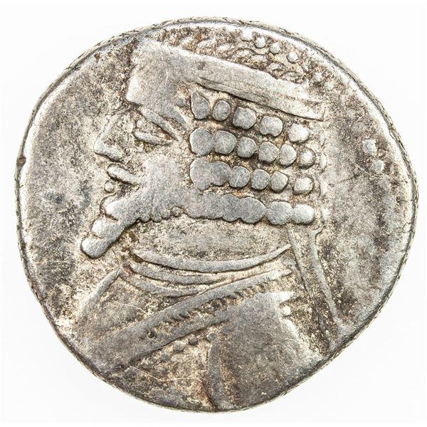 PARTHIAN KINGDOM: Phraates IV, 38-2 BC, AR tetradrachm (14.17g), Seleukeia on the Tigris, ND (38/7-3