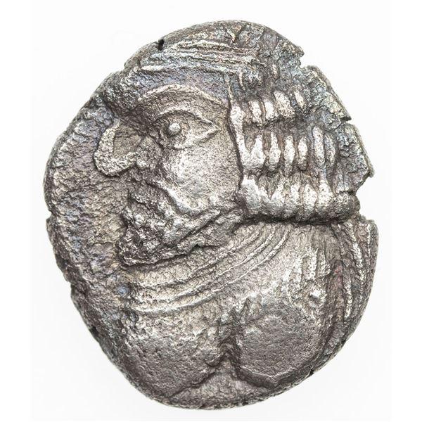 PERSIS KINGDOM: Vahsir, 1st century BC/AD, AR drachm (3.71g). VF