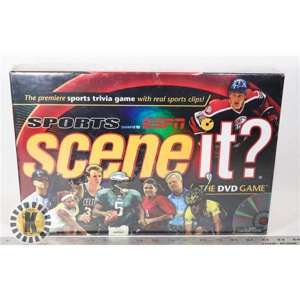 SPORTS SCENE  IT? DVD GAME