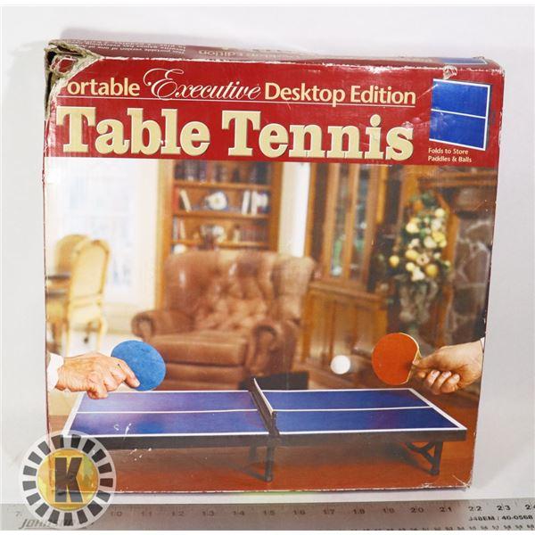 PORTABLE TABLE TENNIS- DESKTOP EDITION