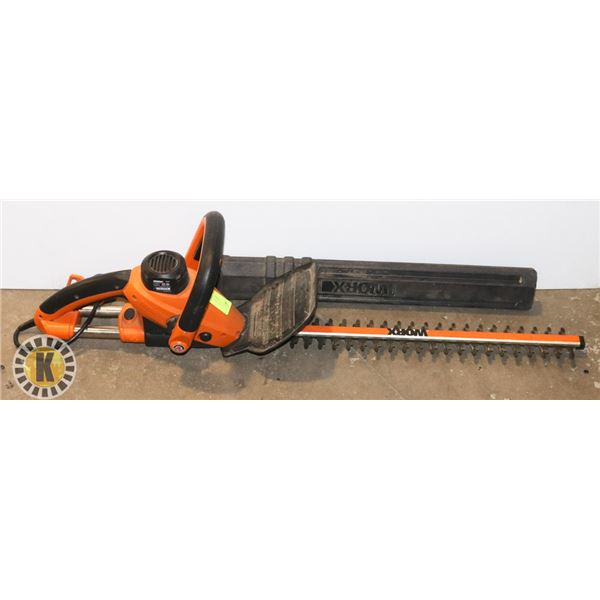 """WORX 24"""" ELECTRIC HEDGE TIMMER, CORDED"""
