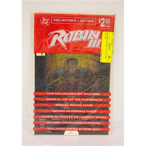 DC COMICS ROBIN 3 COLLECTOR EDITION