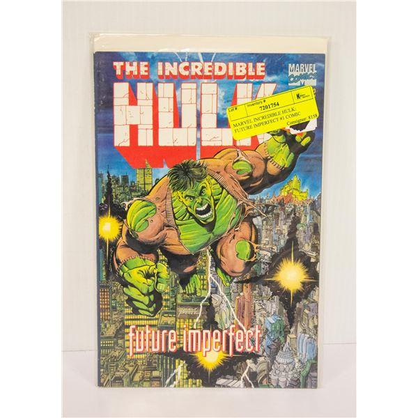 MARVEL INCREDIBLE HULK: FUTURE IMPERFECT #1 COMIC