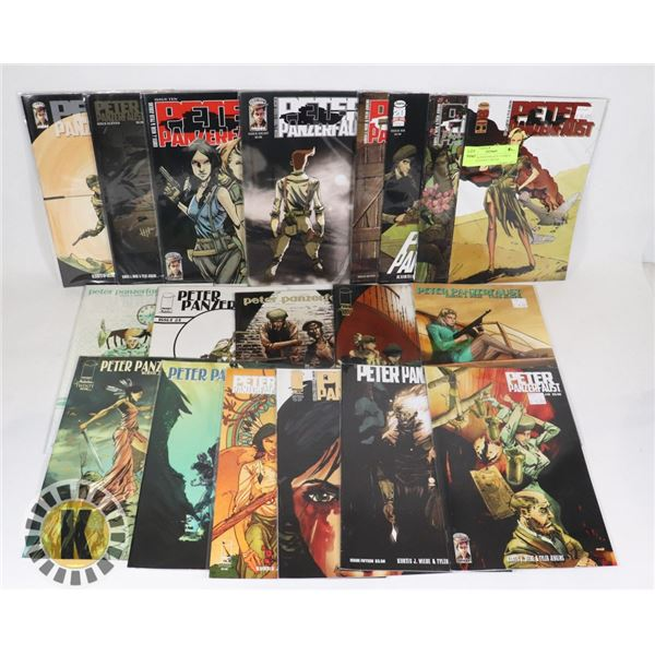 21 PETER PANZERFAUST COMICS NUMEROUS KEY ISSUES